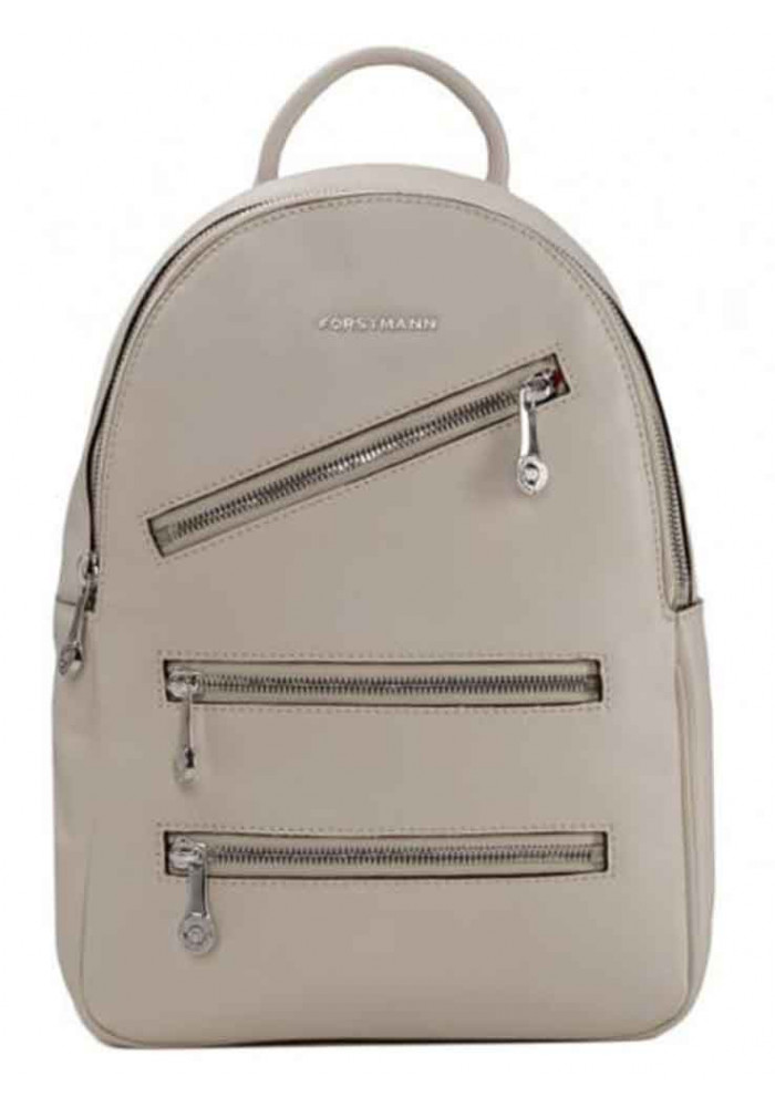 Фото Женский кожаный рюкзак Forstmann White