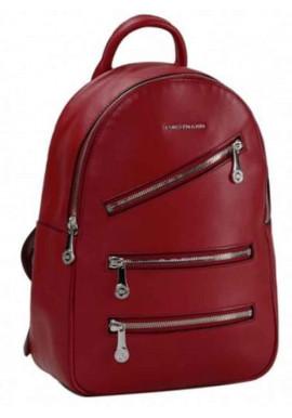Фото Женский кожаный рюкзак Forstmann Red