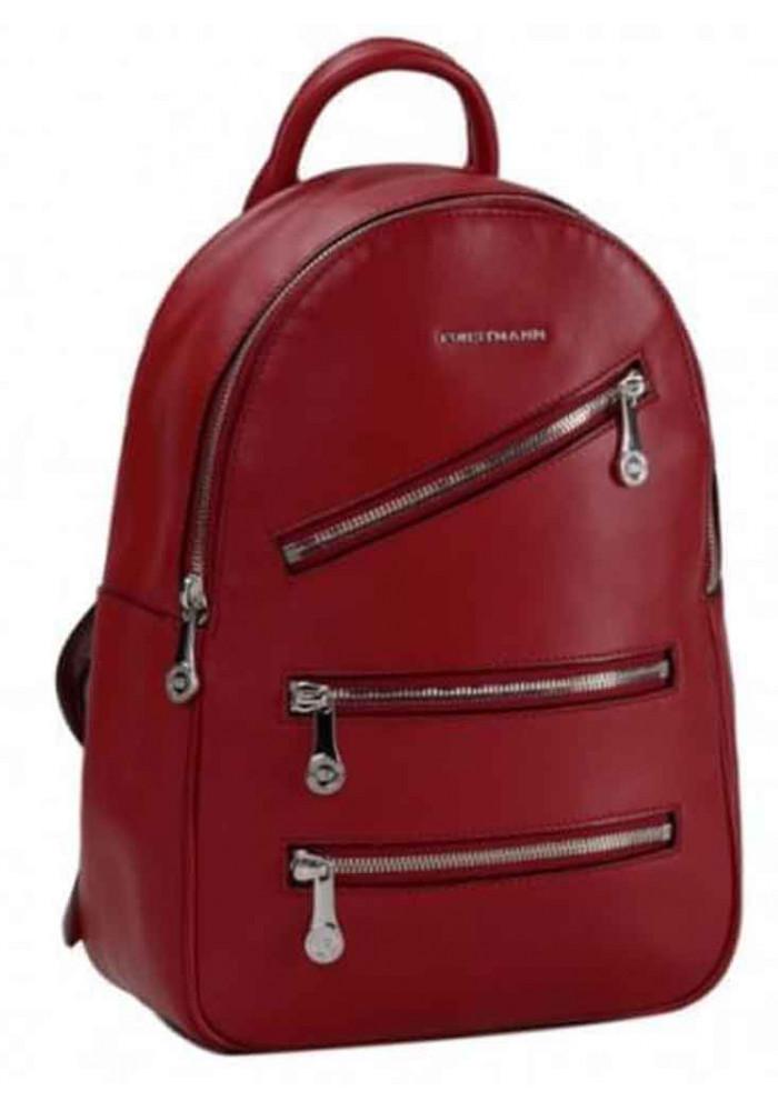 Женский кожаный рюкзак Forstmann Red
