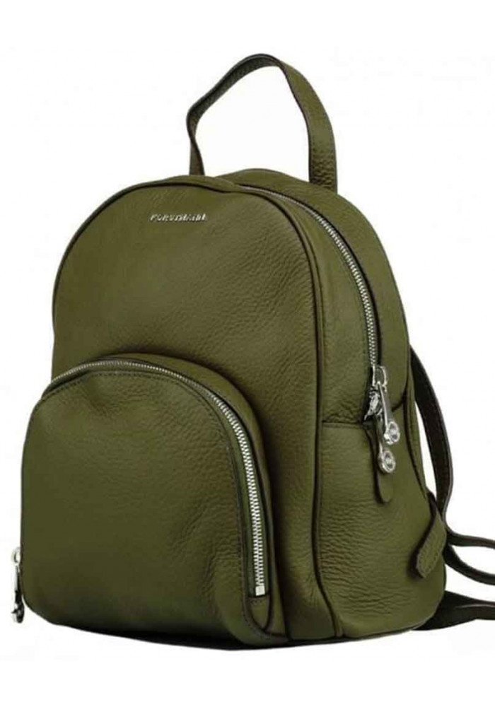 Женский рюкзак из кожи Forstmann Olive