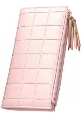 Кошелек женский Baellerry Square Pink