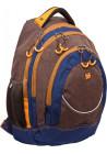 """Рюкзак для подростка коричневый """"University"""" T-14"""