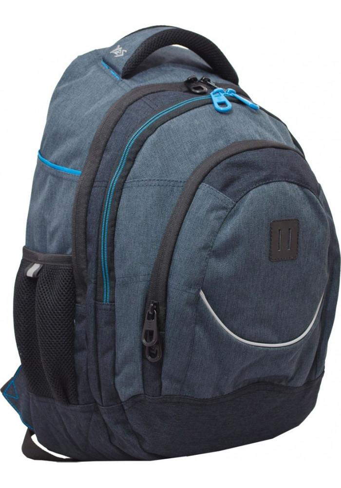 """Рюкзак подростковый серый YES """"Carbon"""" T-14"""