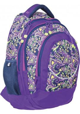"""Фото Рюкзак для подростков фиолетовый """"Roxy"""" T-14"""