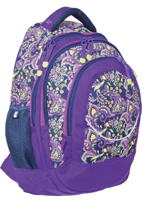 """Рюкзак для подростков фиолетовый """"Roxy"""" T-14"""