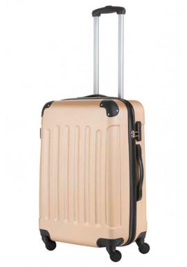 Женский чемодан на колесах TravelZ Light M Champagne