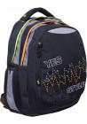"""Рюкзак для подростков YES черный """"Pulse"""" T-22"""