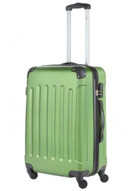Чемодан на колесах TravelZ Light M Khaki Green