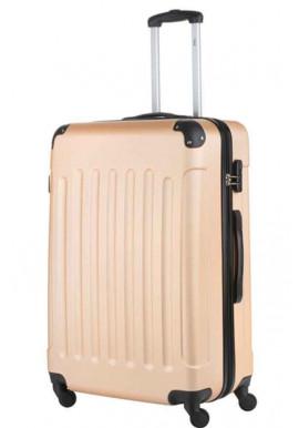 Женский чемодан TravelZ Light L Champagne