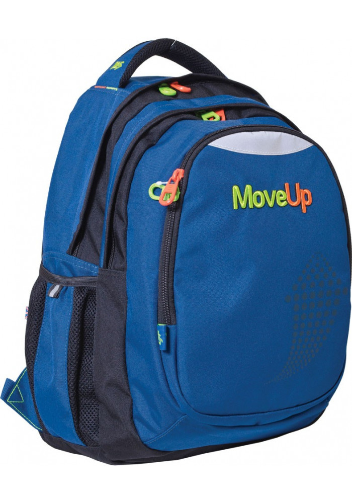 """Рюкзак подростковый синий YES """"Move Up"""" T-22"""