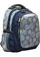 "Рюкзак для подростка серый YES ""Blowball"" T-22 - интернет магазин stunner.com.ua"