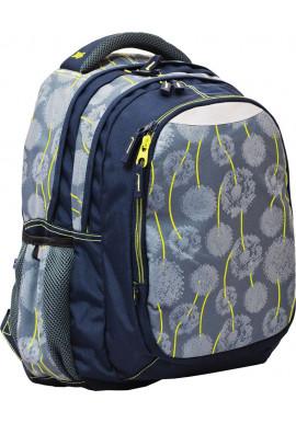 """Рюкзак для подростка серый YES """"Blowball"""" T-22"""