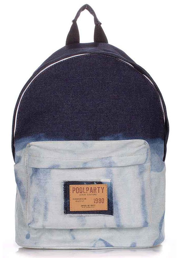 Рюкзак Poolparty джинсовый с градиентом