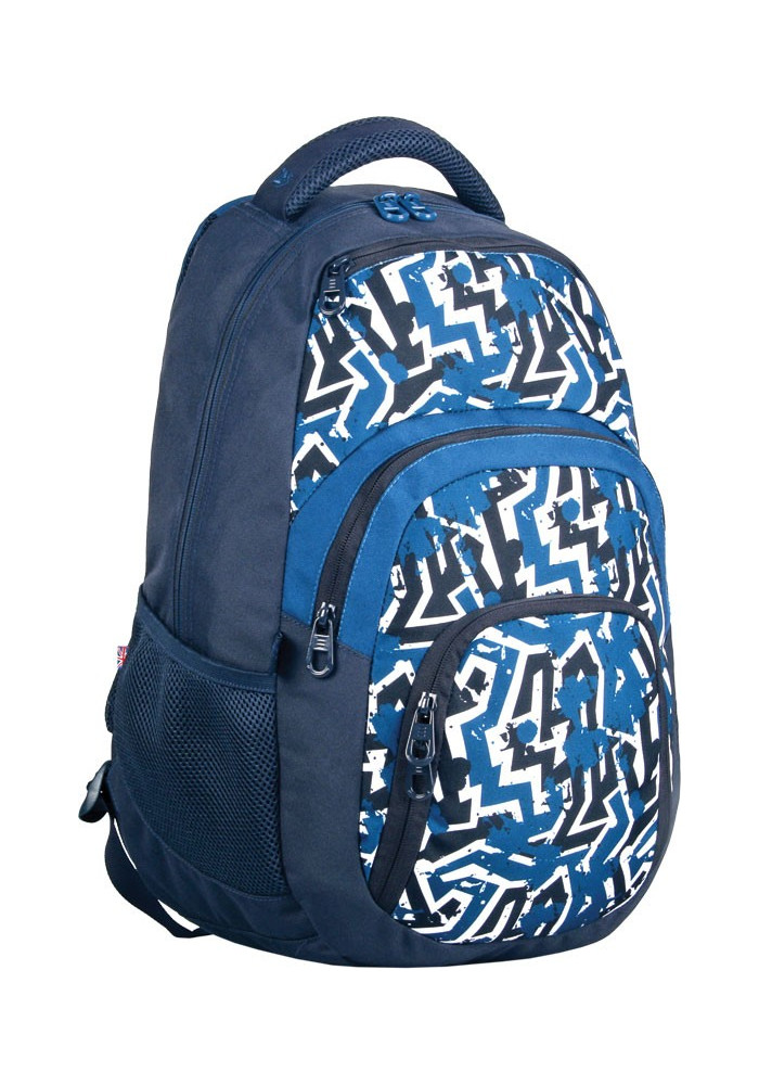 """Рюкзак для подростков синий YES """"Cool"""" T-25"""