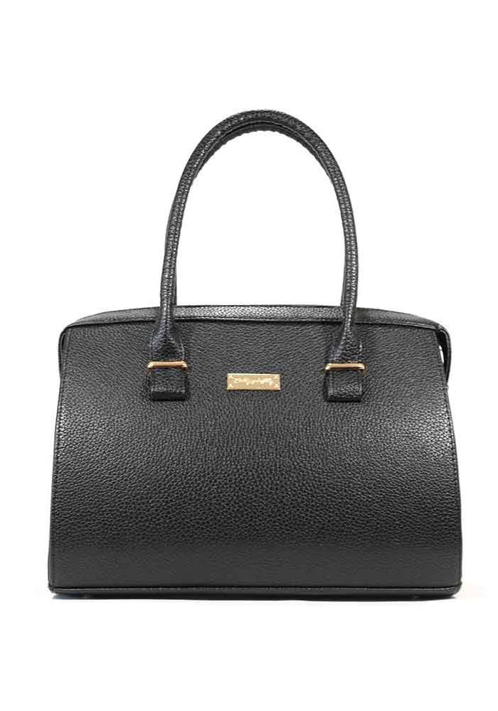 Женская черная матовая сумка 12P-1120