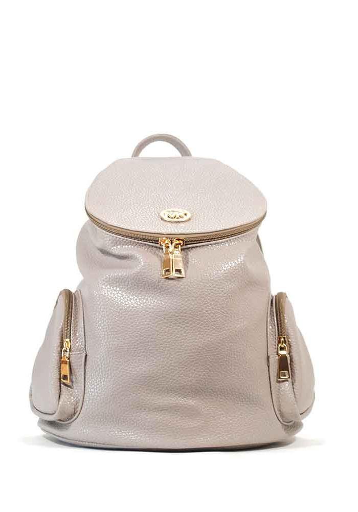 Рюкзак молодежный женский серый 57-grey