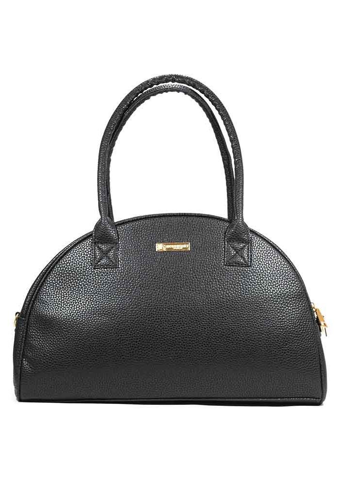 Фото Женская сумка молодежная черная 90-P001