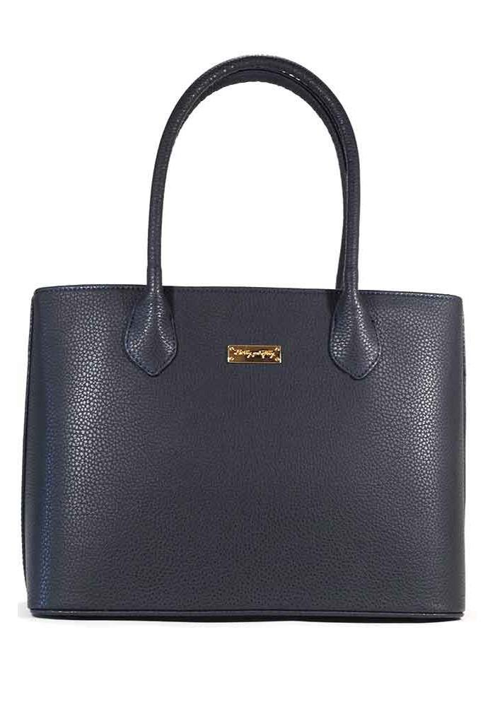 Женская сумка синяя матовая