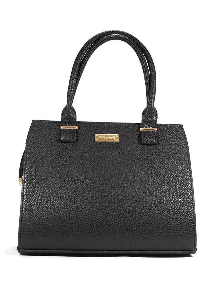 Женская черная матовая сумка 09P-P001