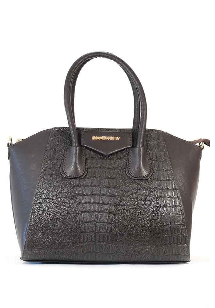 Женская коричневая сумка 35-M52-BRN
