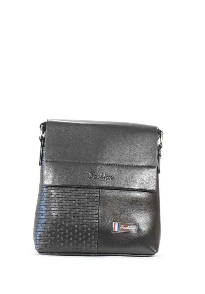 Черная мужская сумка через плечо Fashion 108-2-blk