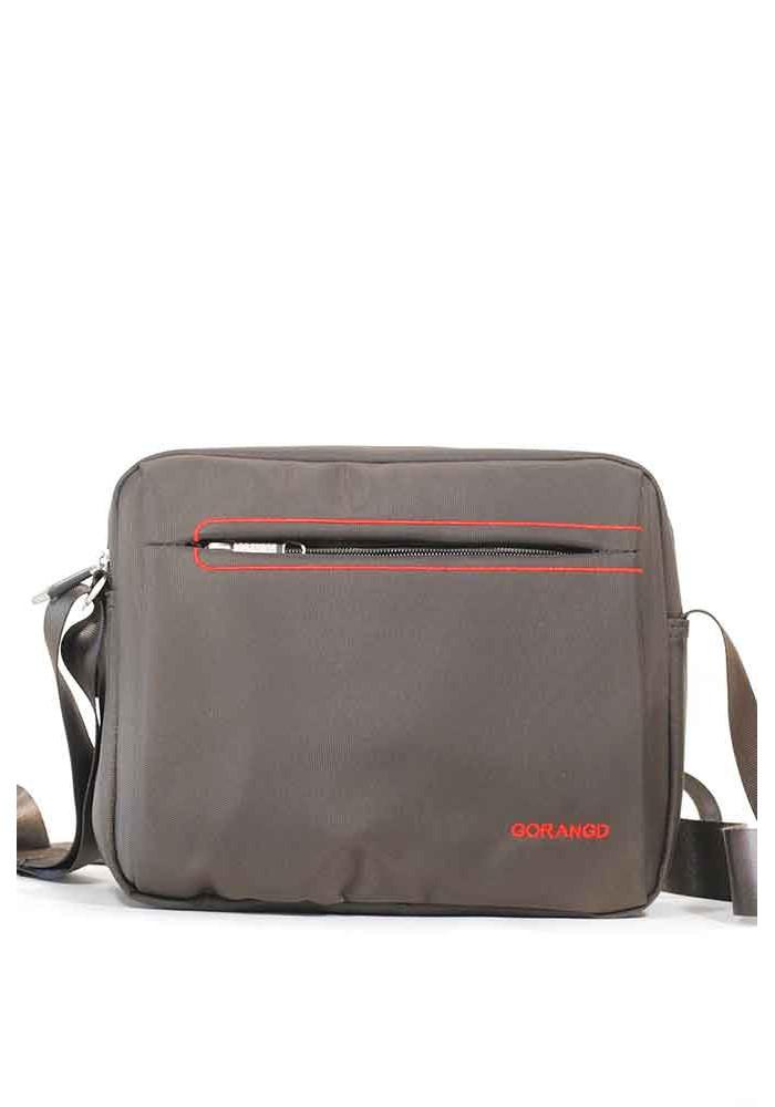 Мужская сумка через плечо Gorangd 789-coffee