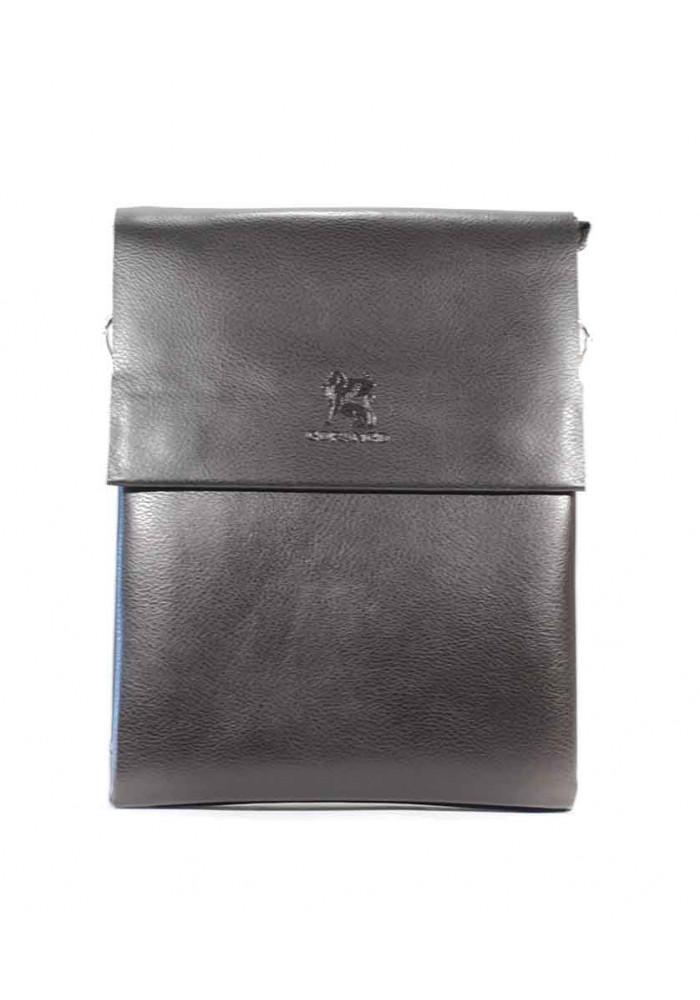 Коричневая мужская сумка через плечо Gorangd 886-3