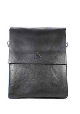 Фото Большая черная мужская сумка через плечо Gorangd 886-5