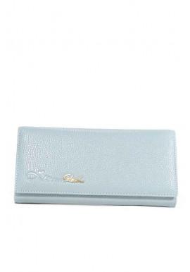 Фото Стальной серый матовый женский кошелек 16A-4826-STEEL-GREY
