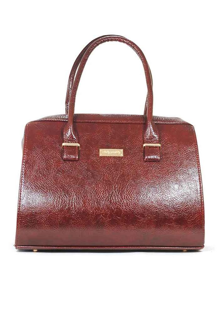 Бордовая глянцевая женская сумка Betty Pretty 12P-DIEGO-BORDO