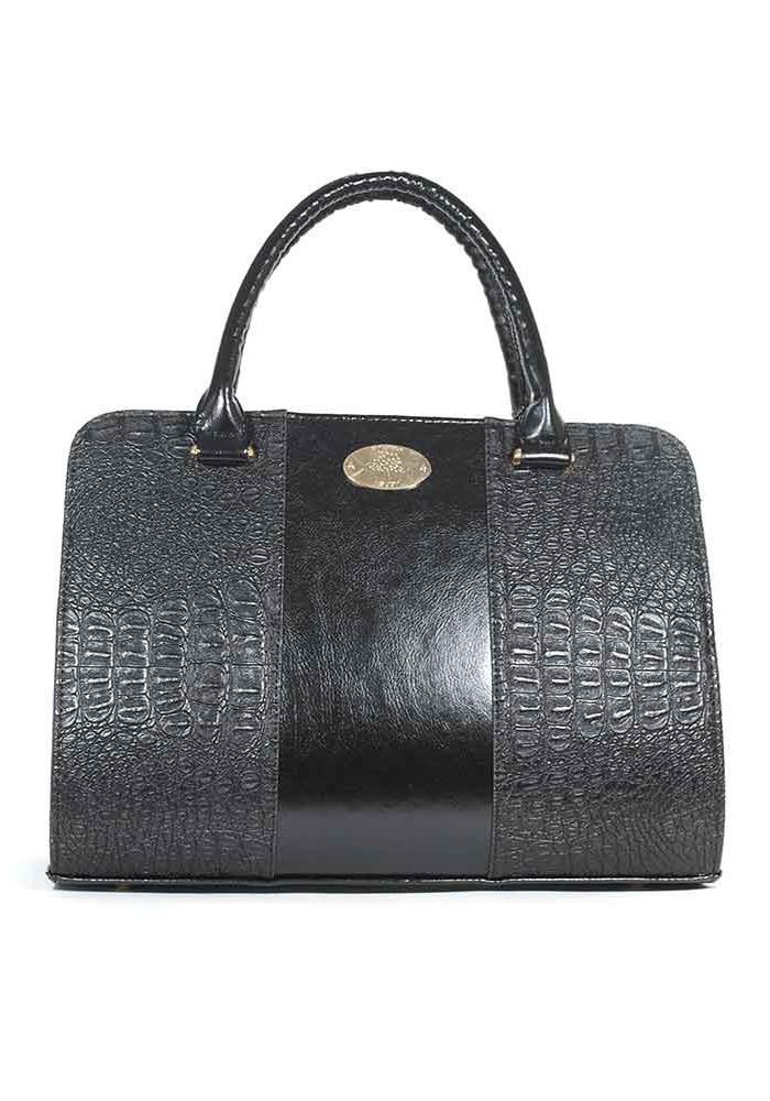 Фото Комбинированная черная женская сумка Betty Pretty TLP4