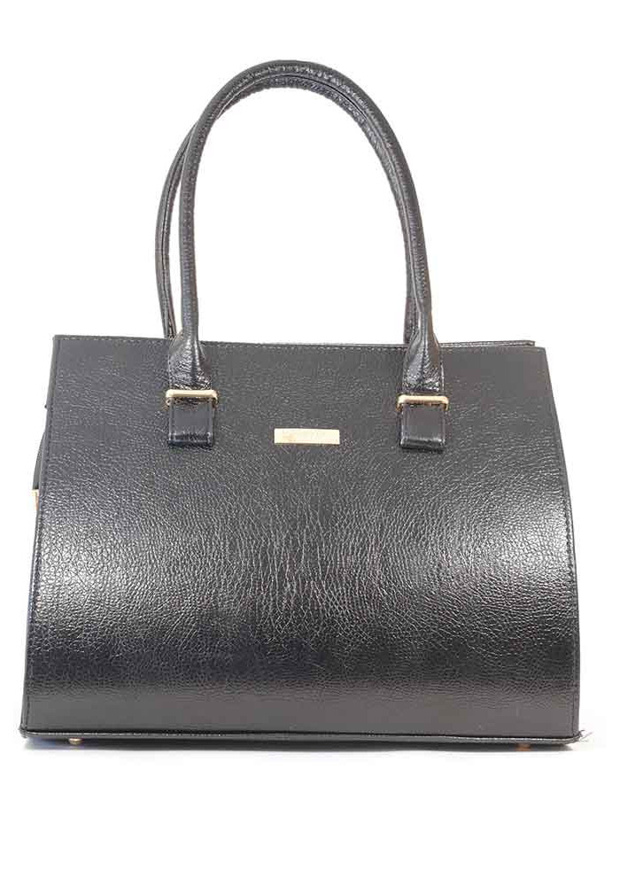 Большая черная глянцевая женская сумка 99P-DIEGO-BLACK