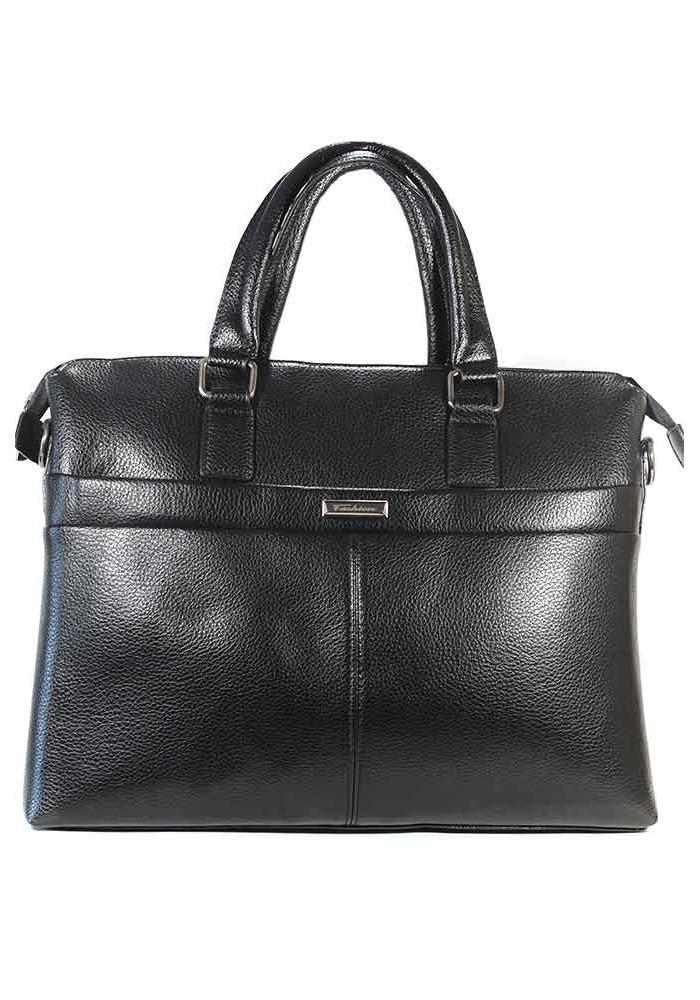 Черная мужская сумка-портфель Fashion 8332-3-BLACK