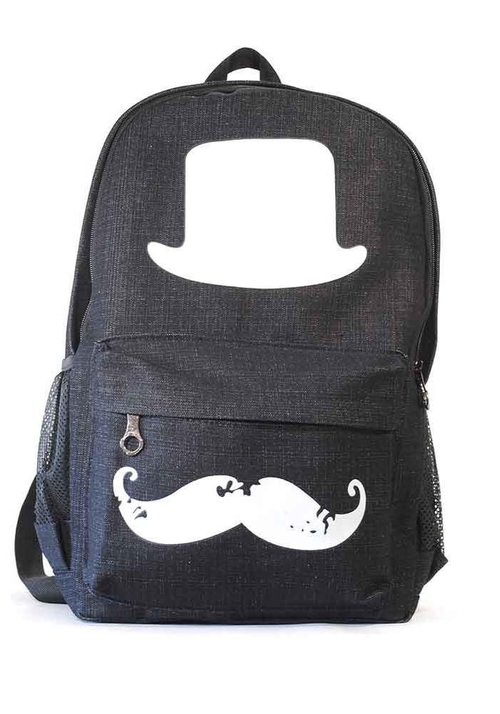 Рюкзак молодежный черный L-916-black