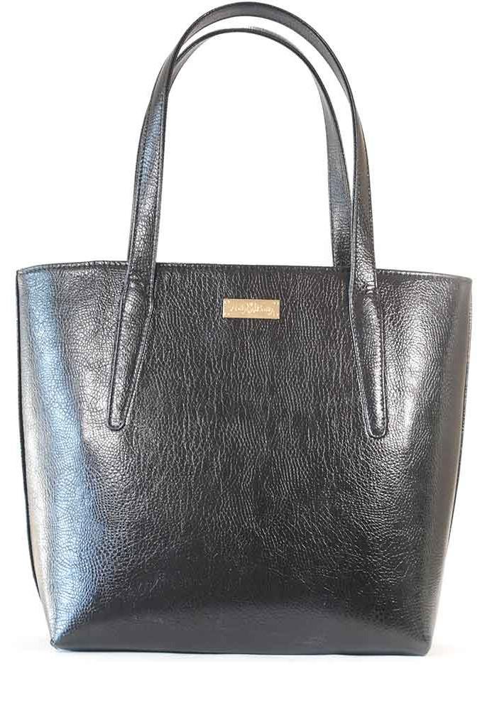 Фото Черная глянцевая женская сумка 61-DIEGO-BLK