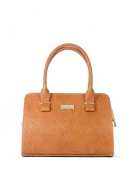 Фото Маленькая рыжая женская сумка 16P4-1143