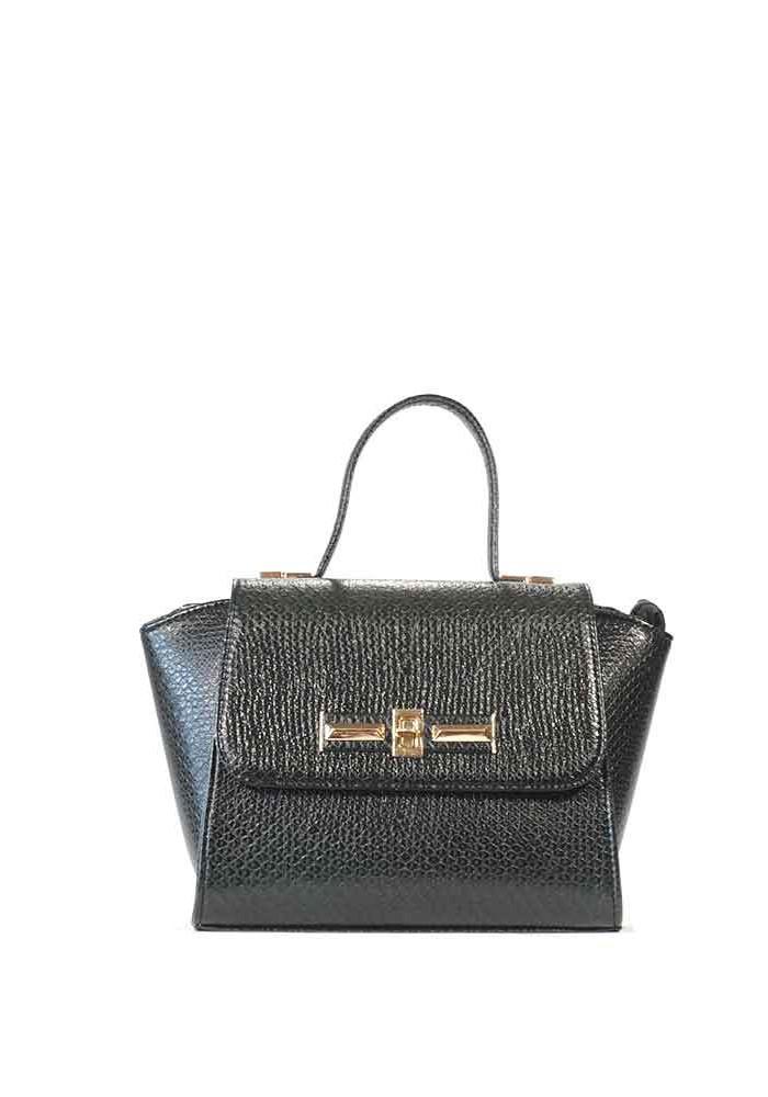 Женская маленькая сумка зеленая рептилия 52-REP-GREEN