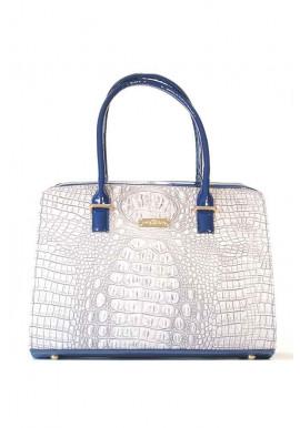 Фото Женская сумка Betty Pretty с синими ручками 12P-1372