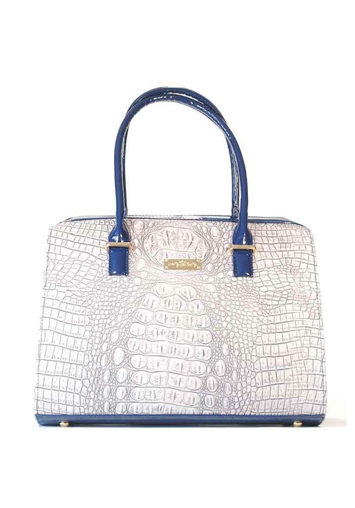 Женская сумка Betty Pretty с синими ручками 12P-1372