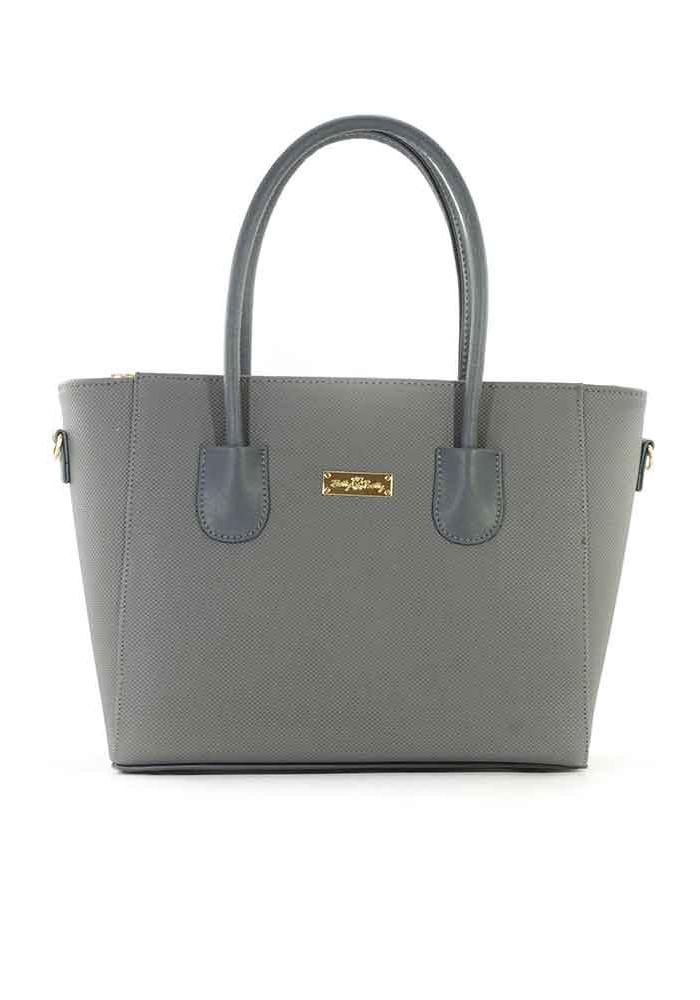 Серая сумка женская с узким дном 66BK-GREY-B