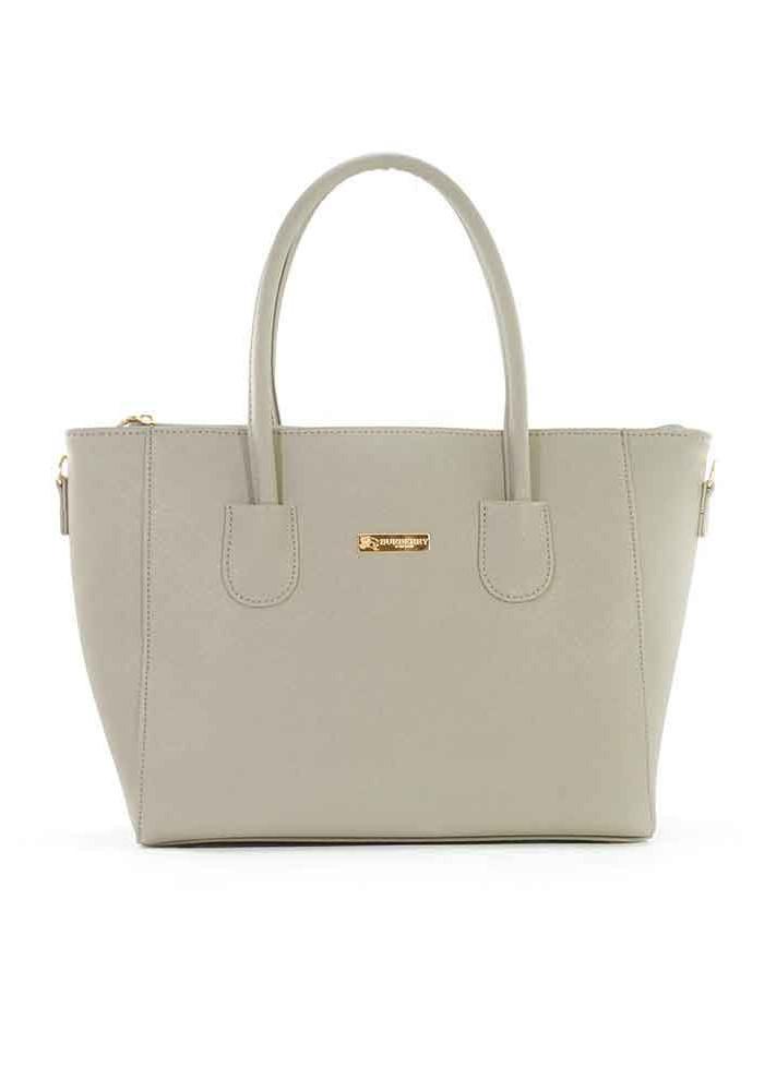 Светло-серая сумка женская 66BK-GREY