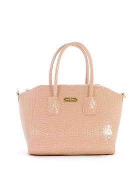 Фото Лаковая женская пудровая сумка Betty Pretty 36-1304