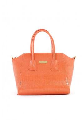 Фото Лаковая женская щранжевая сумка Betty Pretty 36-ORANGE