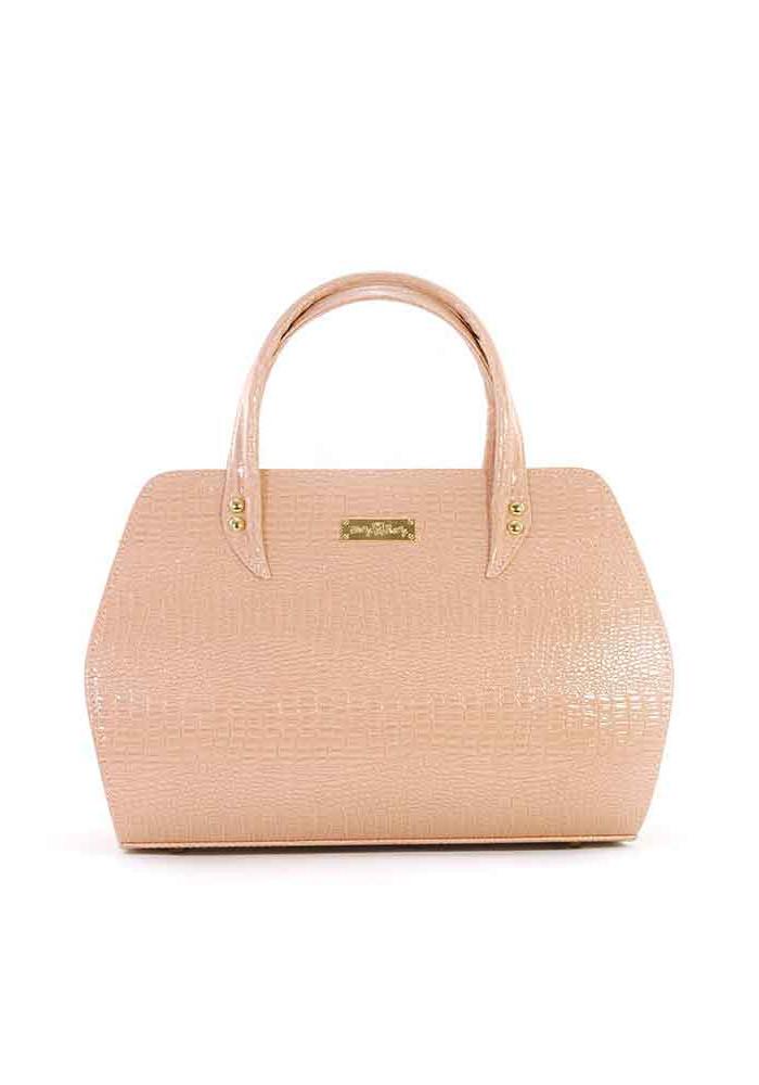 Летняя пудровая женская сумка Betty Pretty 14-PUDRA