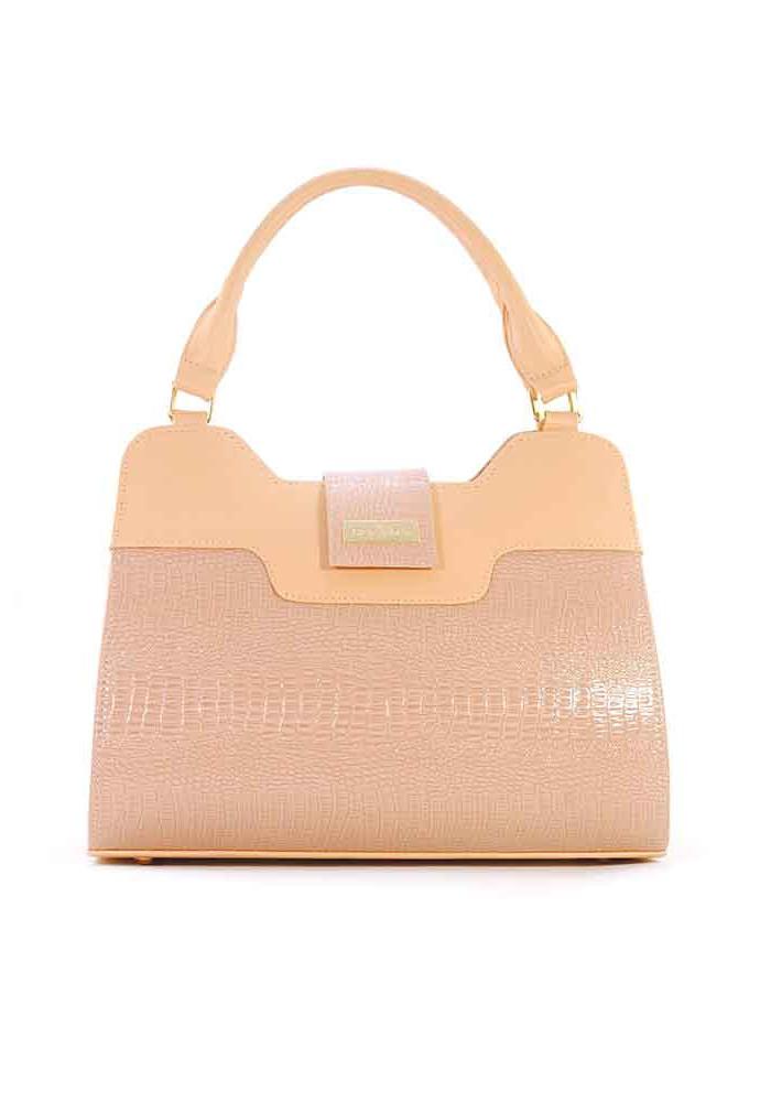 Женская сумка 08M цвета пудры