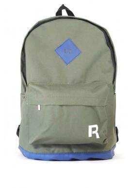 Фото Зеленый спортивный городской рюкзак R-15