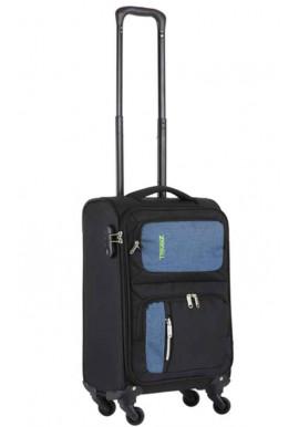 Чемодан TravelZ Triple Pocket S Black