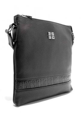 Фото Плоская мужская сумка через плечо 8837