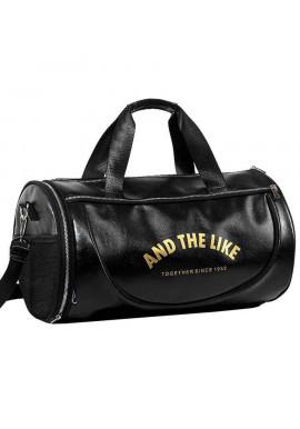Фото Спортивная мужская сумка U-Power And The Like Black Gold