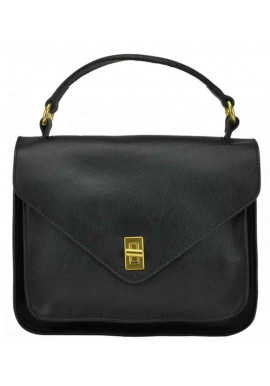 Фото Сумка женская UnaBorsetta черная W12-818S-A